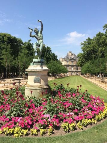 Jardin de Luxembourg, sempre florido em qualquer estação