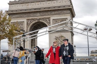 Nanci e Luciano reservaram um dia da viagem a Paris para esse passeio descontraído